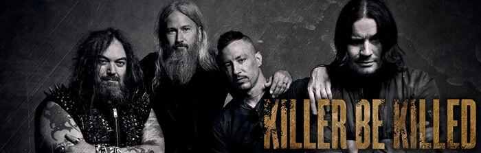 Das Album der Woche: Killer Be Killed mit Reluctant Hero