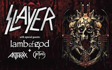 Slayer auf Abschiedstour!