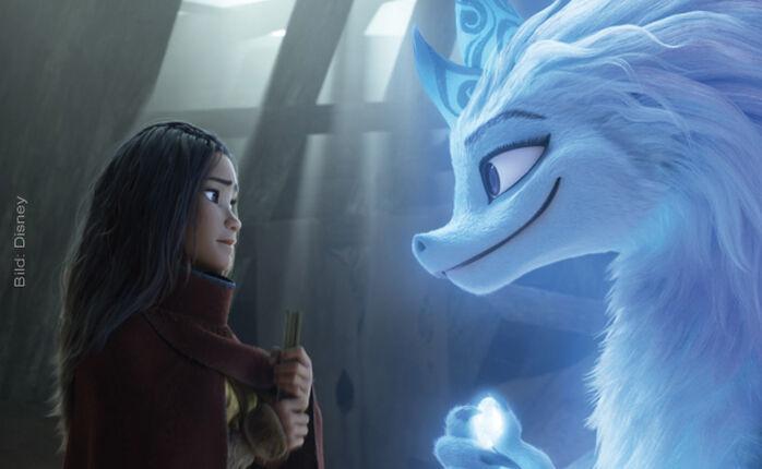 Auf Disney+ gestartet: RAYA UND DER LETZTE DRACHE