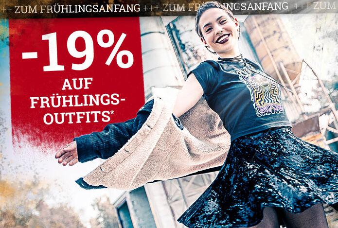 -19% auf Frühlingsoutfits!*