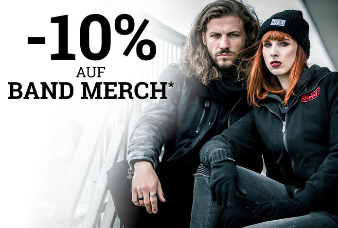 -10% auf BAND MERCH