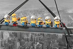 Minions - Lunch On A Skyscraper
