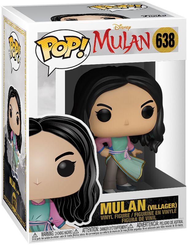 Realfilm - Mulan (Villager) Vinyl Figur 638