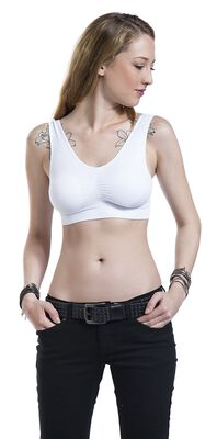 Ladies Pads Sport Bra