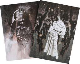 Vader und Leia