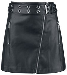 PU Asymetric Skirt