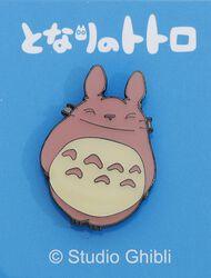 Totoro mit Regenschirm