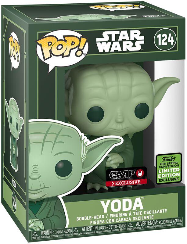 ECCC 2021 - Yoda Vinyl Figur 124
