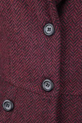 Nicole Red 40s Style Coat