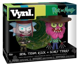 Seal Team Rick and Scary Terry 2-Pack (VYNL)