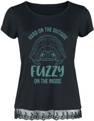 Hard on the outside - Fuzzy on the inside