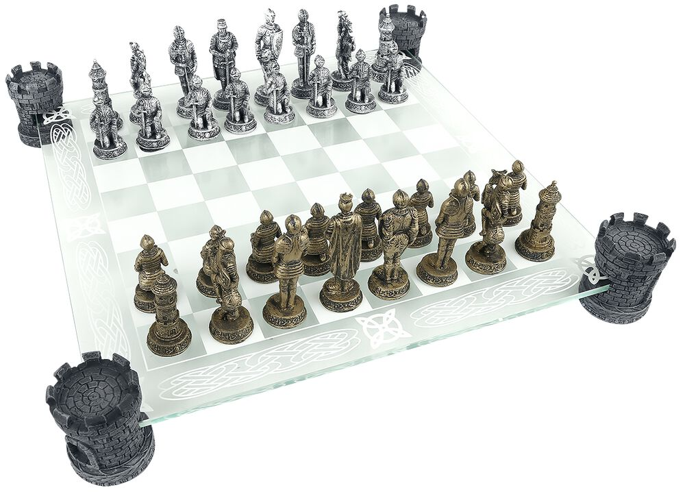 Medieval Knight Chess Set
