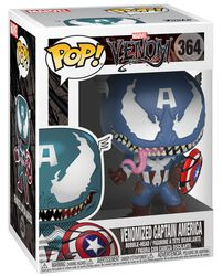 Venomized Captain America Vinyl Figure 364