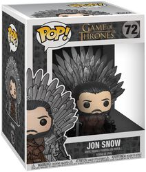 Jon Snow Iron Throne (POP Deluxe) Vinyl Figure 72