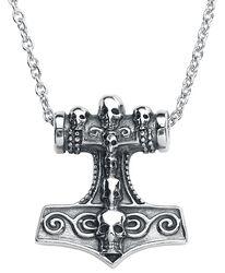 Thor´s Skull Hammer Necklace