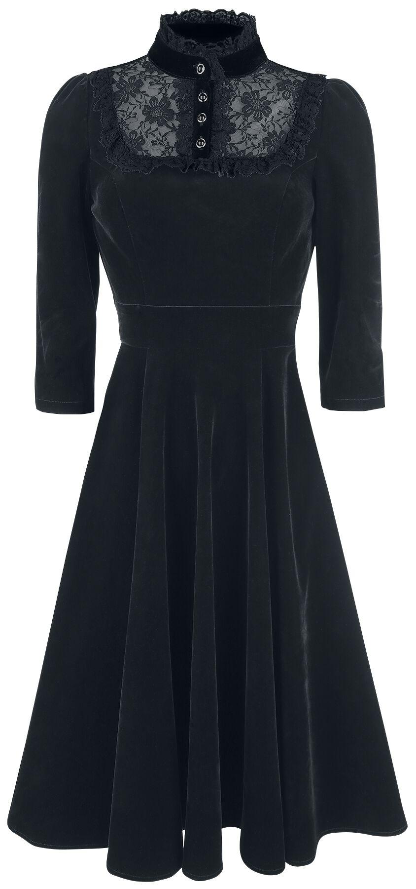 Nightshade Velvet Dress   H R London Mittellanges Kleid   EMP 30e0ddb6d1