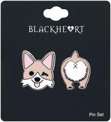 Dog Pin Set