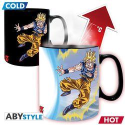 Z - Goku vs Buu - Tasse mit Thermoeffekt