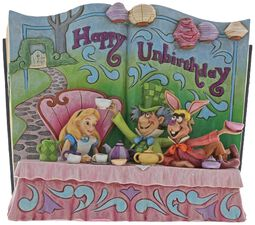 Happy Unbirthday (Storybook Alice im Wunderland Tea Party Figurine)