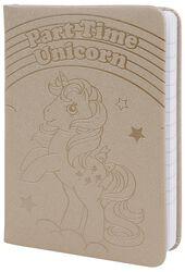 Part Time Unicorn - A6 Pocket Premium Notizbuch
