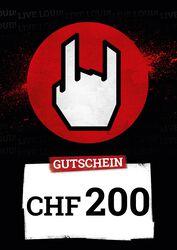 Kauf- und Wertgutschein SFr 200,00