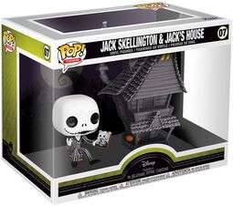 Nightmare Before Christmas Jack Skellington und Jacks House - Vinyl Figure 07