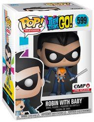Robin mit Baby Vinyl Figure 599