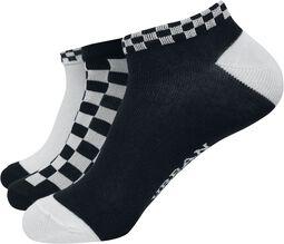 Sneaker Socks Checks 3er Pack