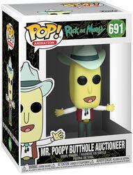 Season 4 - Mr. Poopy Butthole Auctioneer Vinyl Figur 691