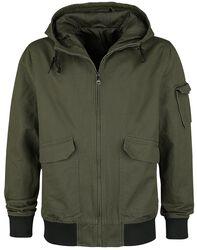Hooded Canvas Jacket