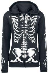 Skeleton Sweatjacket