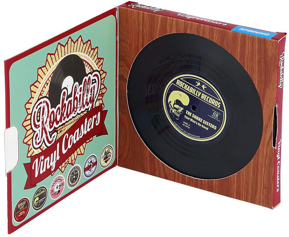 Vinyl Coasters Rockabilly
