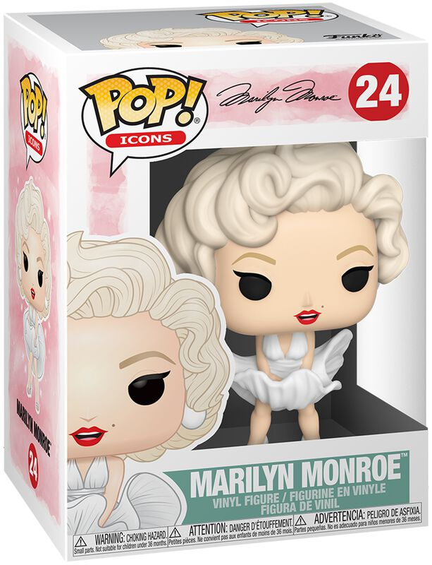 Marilyn Monroe Vinyl Figur 24