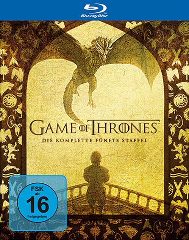 Game Of Thrones Die Komplette 5 Staffel Blu Ray
