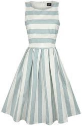 Pale Blue Stripe Dress
