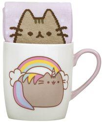 Unicorn - Tasse mit Socke