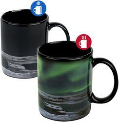 Nordlichter - Tasse mit Thermoeffekt Nordlichter - Tasse mit Thermoeffekt