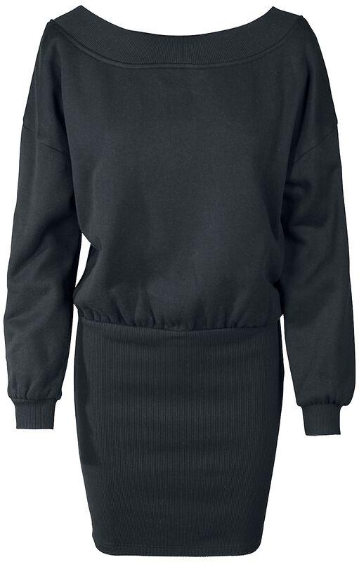 Ladies Sweat Off Shoulder Dress