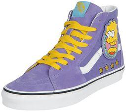 The Simpsons - Lisa 4 Prez SK8-Hi