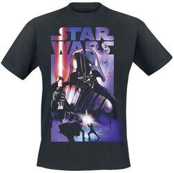 Vader Retro Poster