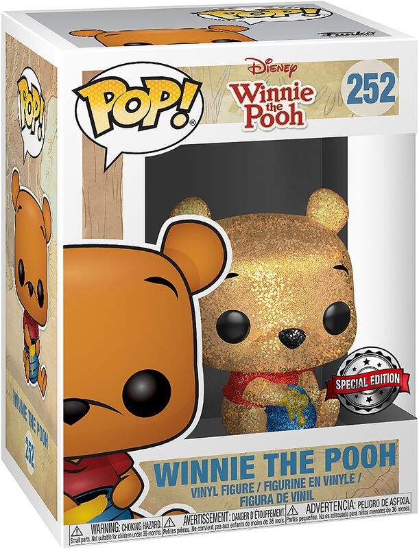Winnie The Pooh (Diamond Collection) Vinyl Figur 252