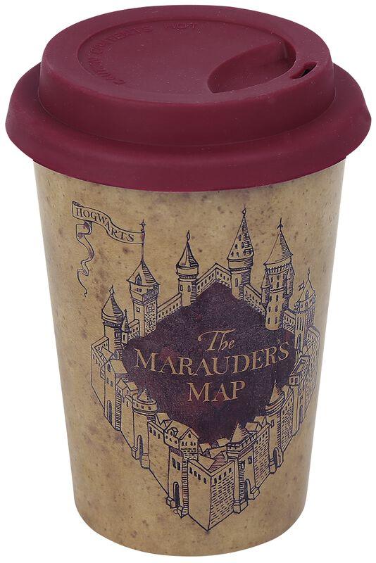 Karte des Rumtreibers - Huskup Kaffee-Becher