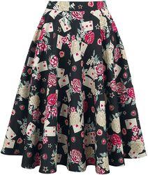 Queen Of Hearts 50's Skirt