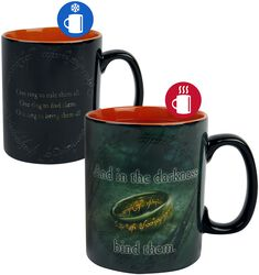 Sauron - Tasse mit Thermoeffekt