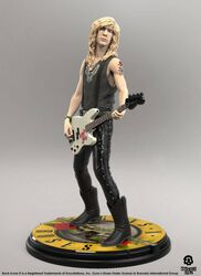 Duff McKagan Rock Iconz Statue