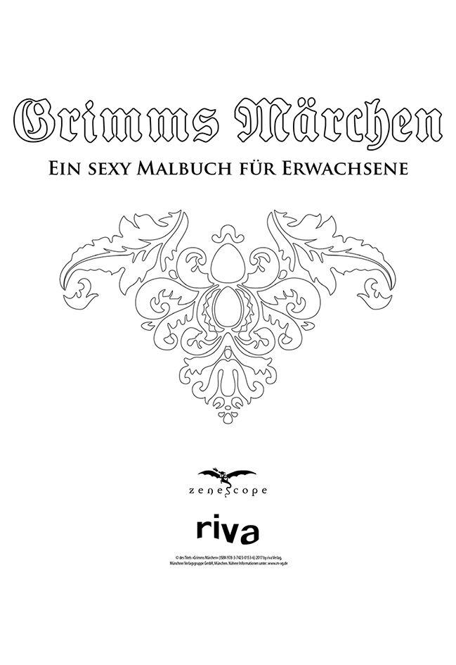 Ein sexy Malbuch für Erwachsene | Grimms Märchen Spielbuch | EMP