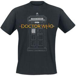 Logo 13th Doctor Tardis