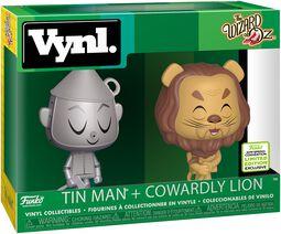 Der Zauberer von Oz ECCC 2019 -  Tin Man + Cowardly Lion (VYNL) Vinyl Figure