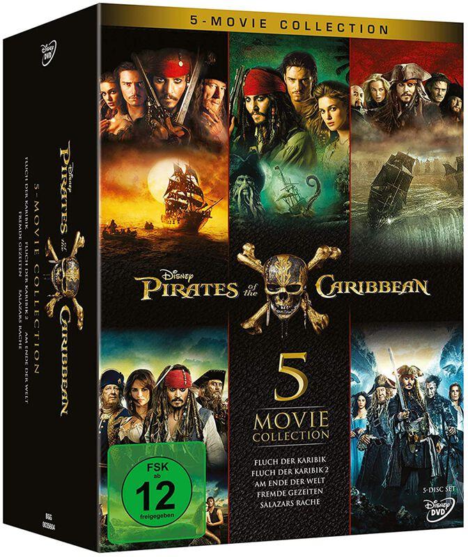 Fluch der Karibik - 5-Movie Collection