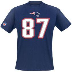 New England Patriots Gronkowski #87